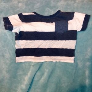 Baby boy striped shirt